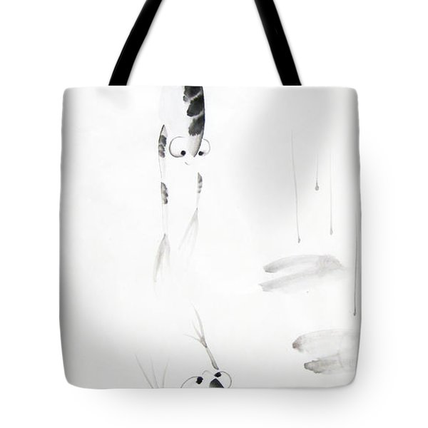 Dance With Me Tote Bag by Oiyee At Oystudio