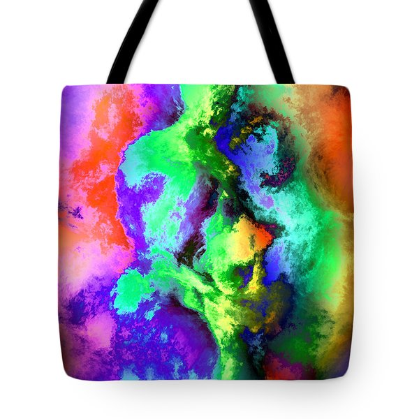 Dancers Tote Bag by Kurt Van Wagner