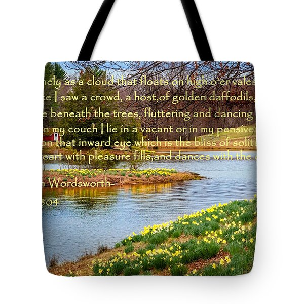 Dances With The Daffodils Tote Bag by Bill  Wakeley