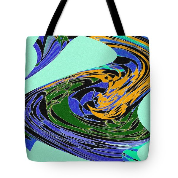 Dancing Goose Tote Bag by Will Borden