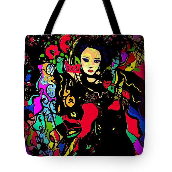 Dancing In The Moonlight Tote Bag by Natalie Holland