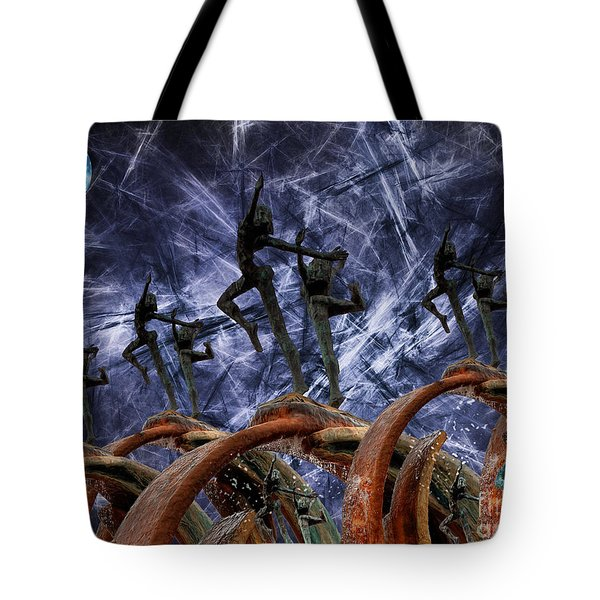 Dancing In The Moonlight Tote Bag by English Landscapes