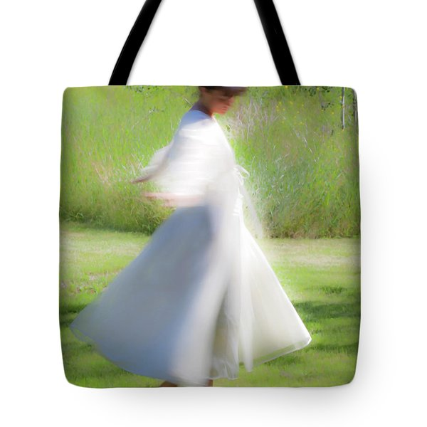Dancing In The Sun Tote Bag by Theresa Tahara