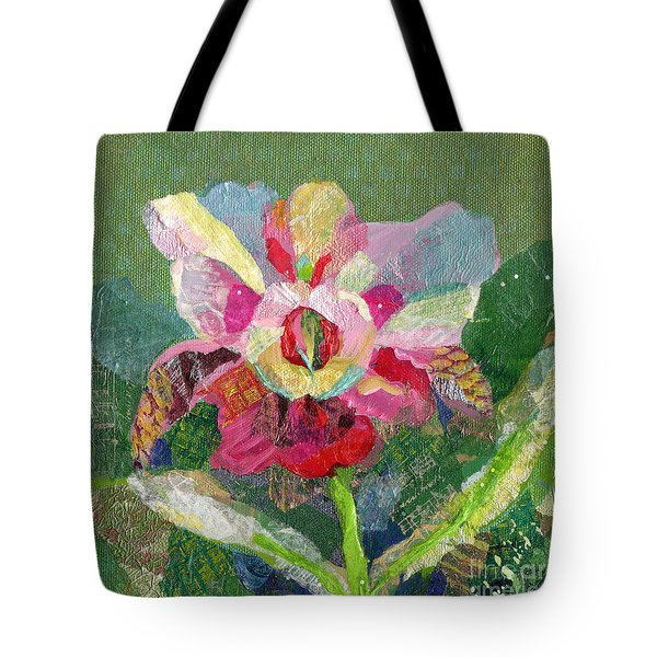 Dancing Orchid II Tote Bag by Shadia Derbyshire