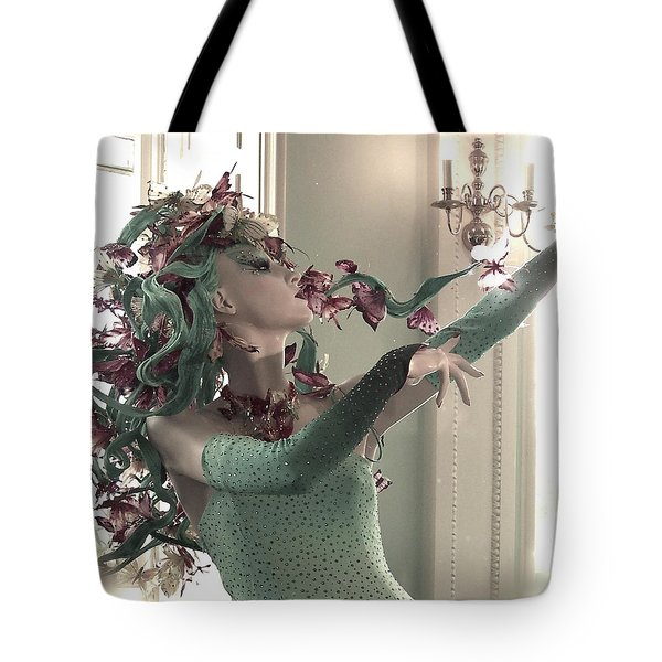Dancing With Butterflies Tote Bag by Marianna Mills