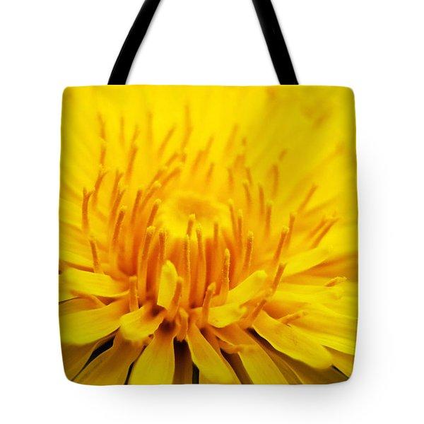 Dandelion Tote Bag by Christina Rollo