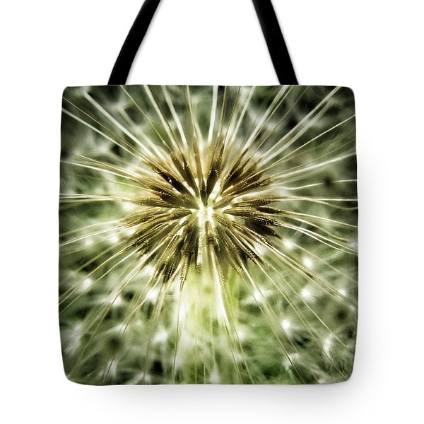 Dandelion Seeds Tote Bag by Marianna Mills