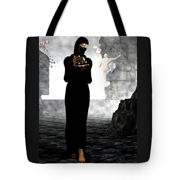 Dantes Dream Tote Bag by Bob Orsillo