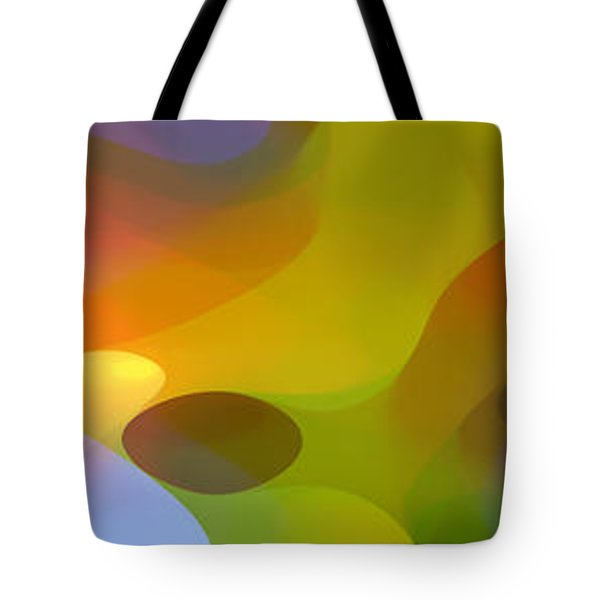 Dappled Light Panoramic 2 Tote Bag by Amy Vangsgard