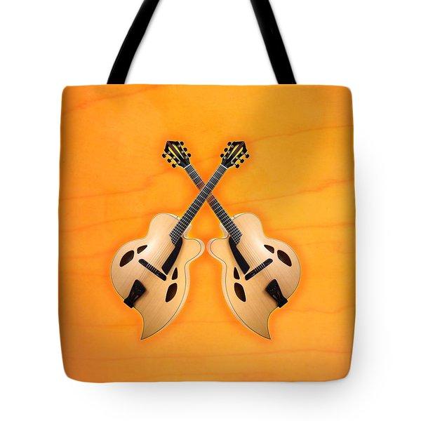 D'aquisto Acoustic Custom Tote Bag by Doron Mafdoos