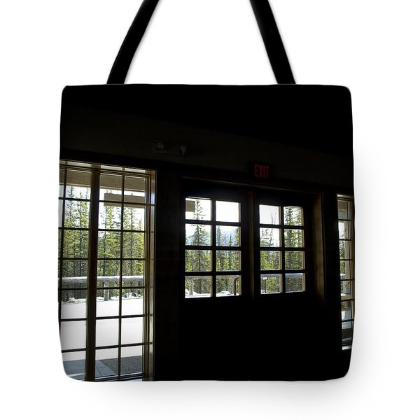 Dark Against The Light Tote Bag by Tara Lynn