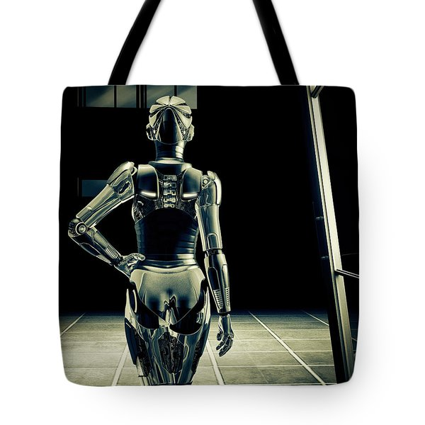 Dark Hall Tote Bag by Bob Orsillo