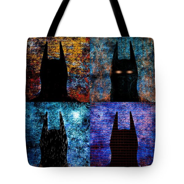 Dark Knight Number 5 Tote Bag by Bob Orsillo