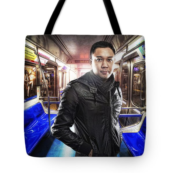 Dark Passenger Tote Bag by Yhun Suarez