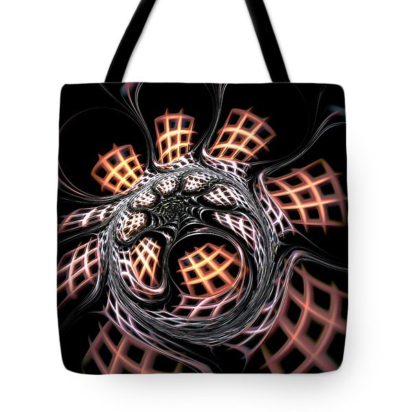 Dark Side Tote Bag by Anastasiya Malakhova