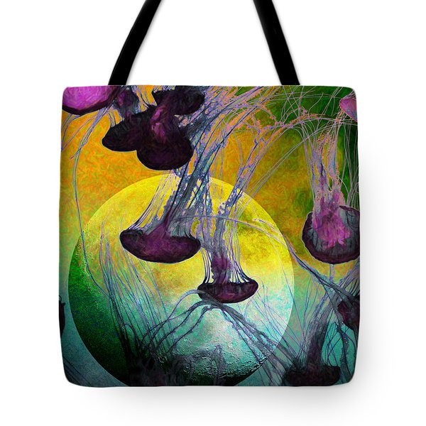 Dark Side Of The Moon 5D24939 Painterly m111 Tote Bag by Wingsdomain Art and Photography