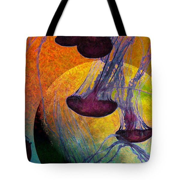 Dark Side Of The Moon 5D24939 Painterly m56 Long Tote Bag by Wingsdomain Art and Photography