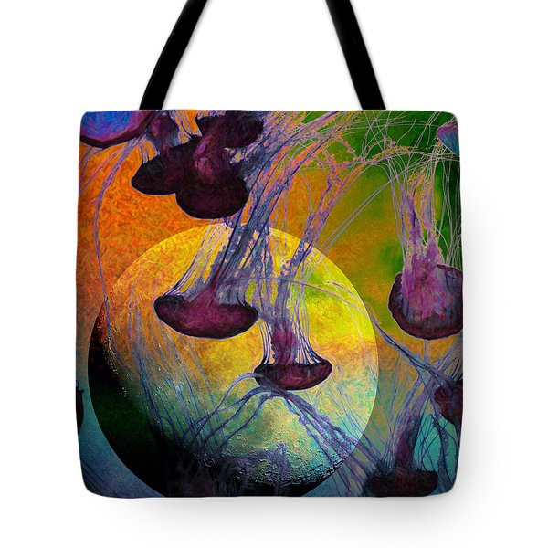 Dark Side Of The Moon 5d24939 Painterly M56 Tote Bag by Wingsdomain Art and Photography