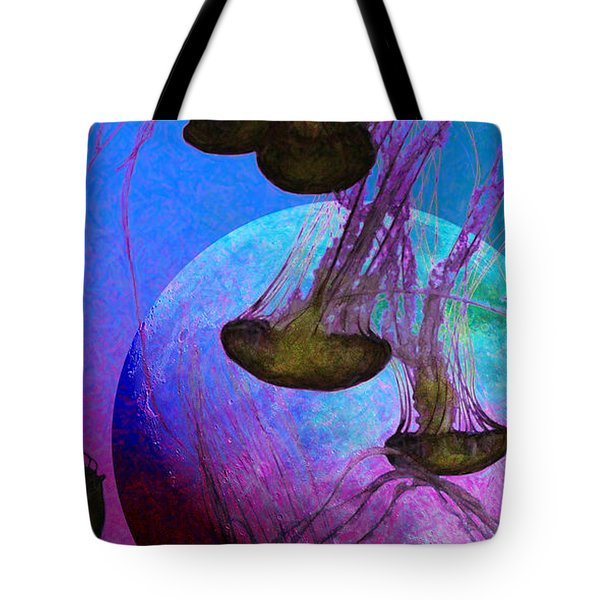 Dark Side Of The Moon 5d24939 Painterly P88 Long Tote Bag by Wingsdomain Art and Photography
