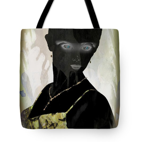 Dark Vision - Featured On Comfortable Art And A Place For All Groups Tote Bag by EricaMaxine  Price