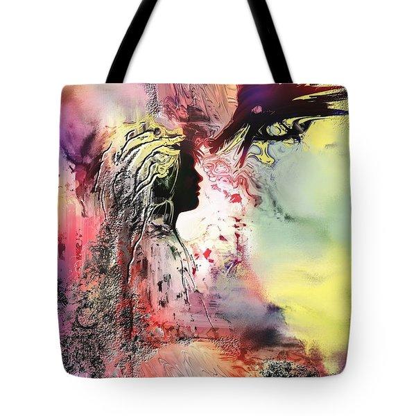 Darkside Tote Bag by Francoise Dugourd-Caput