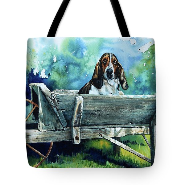 Darn Dog Days Tote Bag by Hanne Lore Koehler