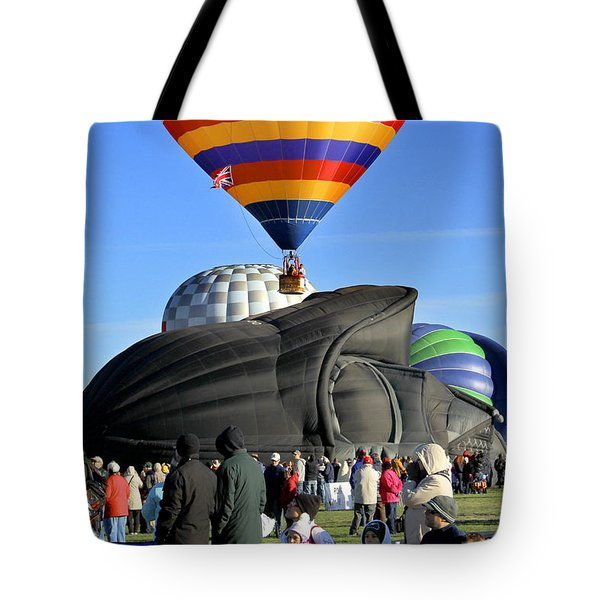 Darth Vader Rises Tote Bag by Mike McGlothlen