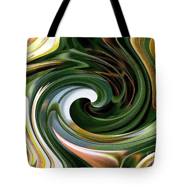 Dasystemon Tarda Twirls Tote Bag by J McCombie