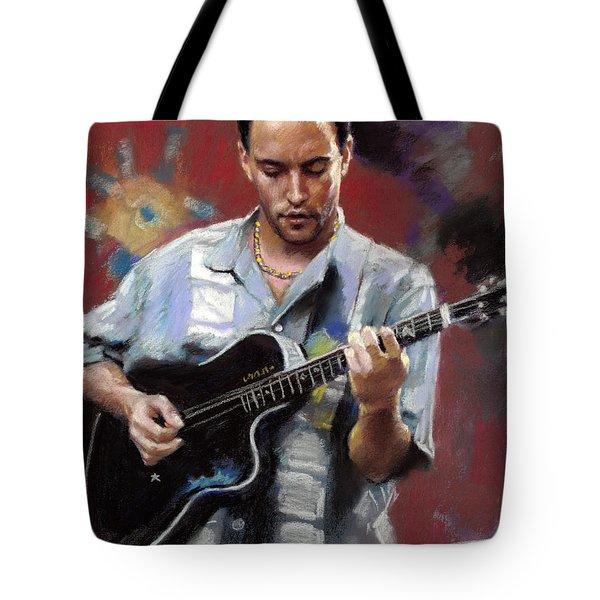 Dave Matthews Tote Bag by Viola El