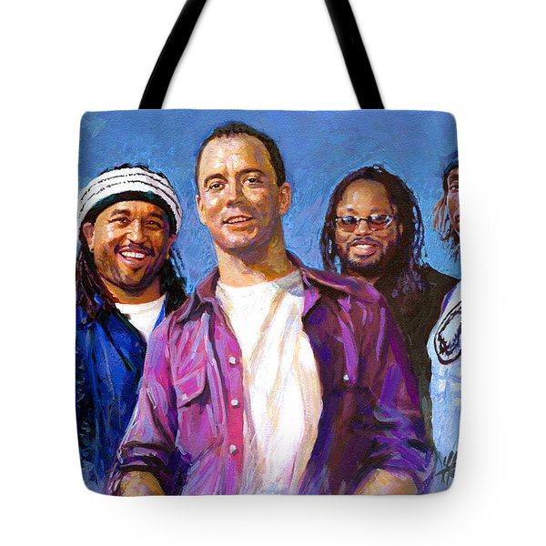 Dave Matthews Band Tote Bag by Viola El