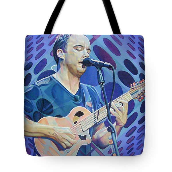 Dave Matthews Pop-Op Series Tote Bag by Joshua Morton