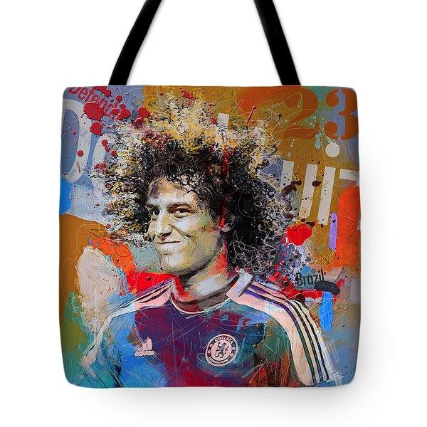 David Luiz Tote Bag by Corporate Art Task Force
