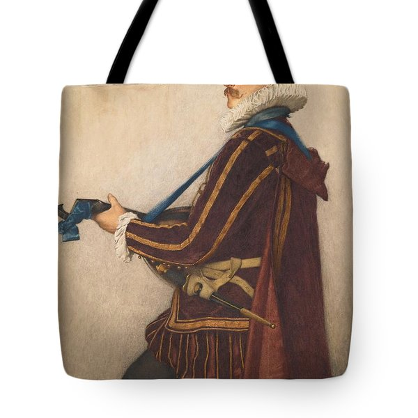 David Rizzio Tote Bag by Sir James Dromgole Linton