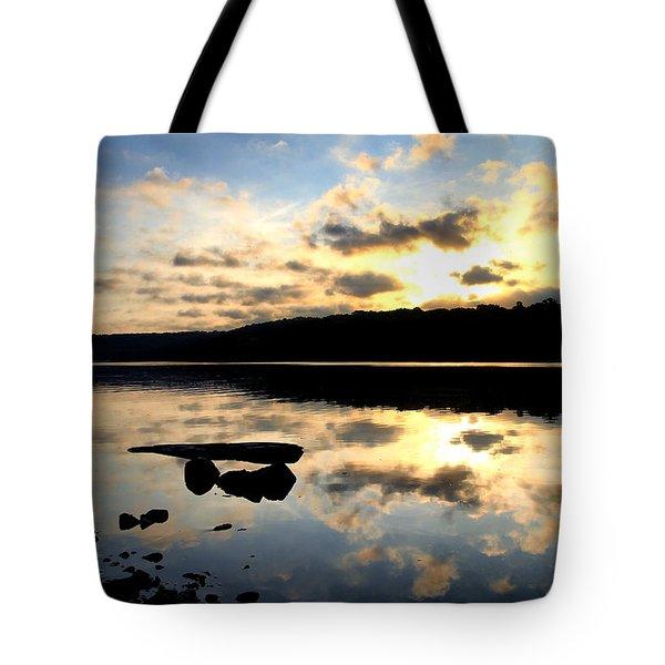 Dawn Breaks Tote Bag by Karol Livote