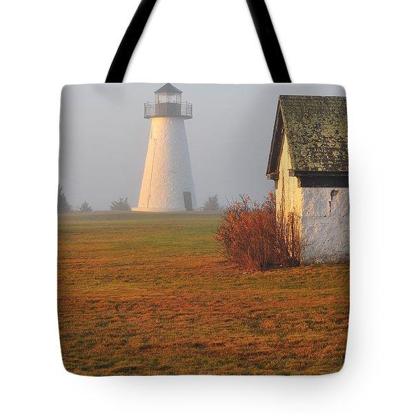 Dawn Fog Tote Bag by Catherine Reusch  Daley