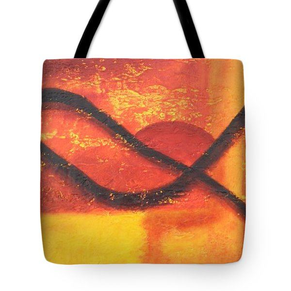 Dawn Tote Bag by Leana De Villiers