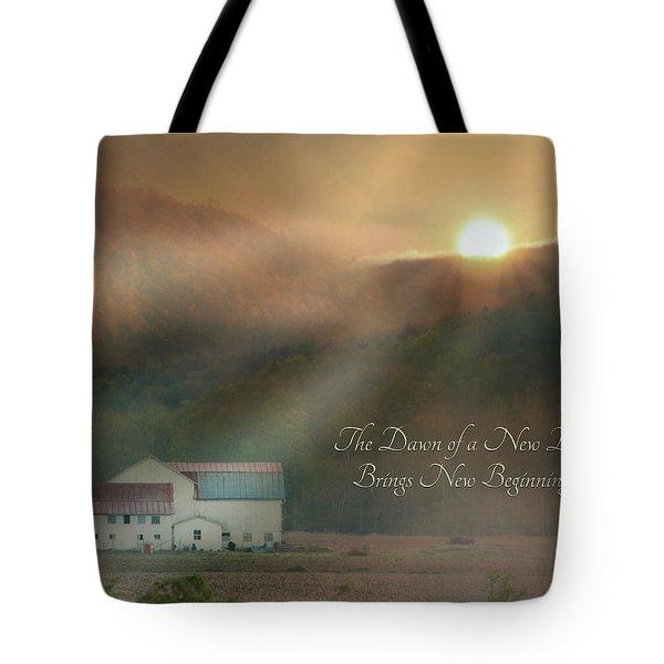 Dawn Tote Bag by Lori Deiter