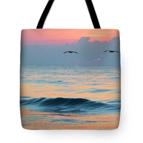 Dawn Patrol Tote Bag by JC Findley