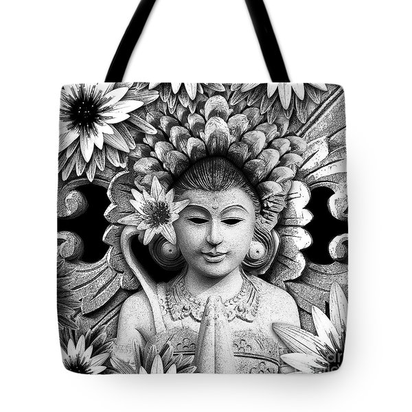 Dawning of The Goddess Tote Bag by Christopher Beikmann