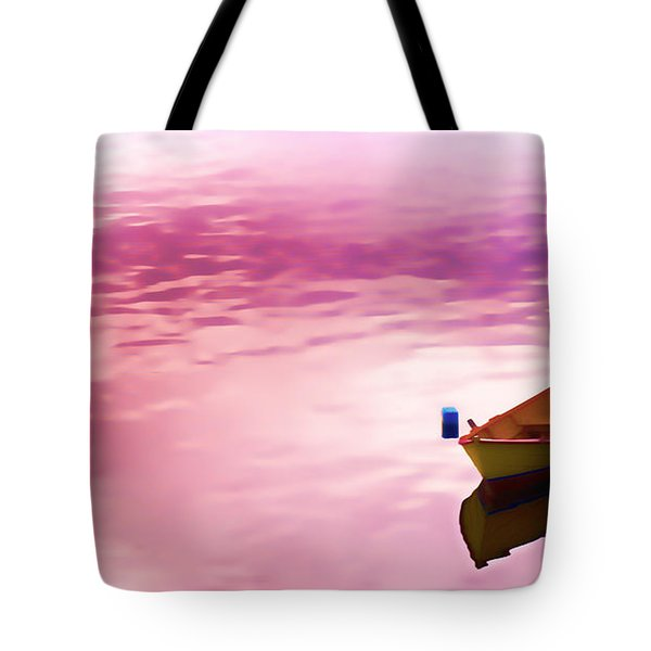 Dawns Light Reflected Tote Bag by Jeff Folger