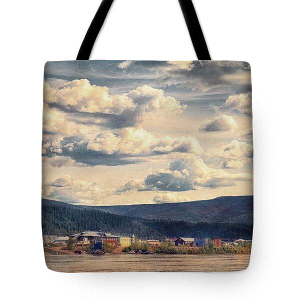 Dawson City Tote Bag by Priska Wettstein