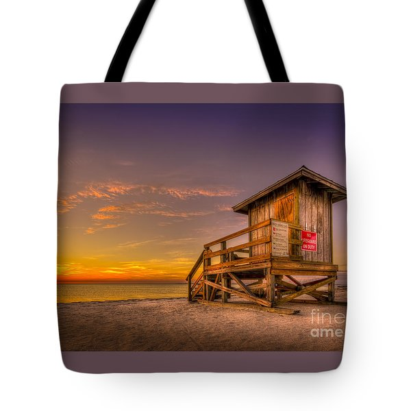 Day Before Spring Break Tote Bag by Marvin Spates
