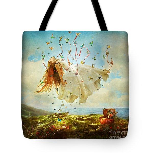 Daydreams Tote Bag by Aimee Stewart