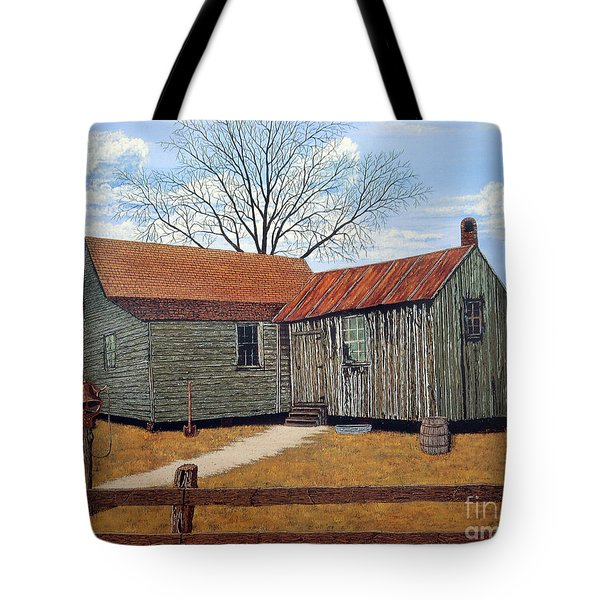 Days Gone By Tote Bag by Jeff McJunkin