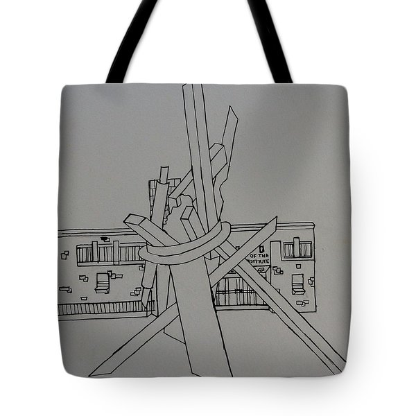 Dayton Art Institute Tote Bag by Erika Chamberlin