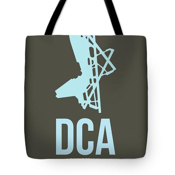 Dca Washington Airport Poster 1 Tote Bag by Naxart Studio
