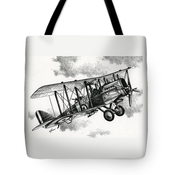 De Havilland Airco Dh.4 Tote Bag by James Williamson