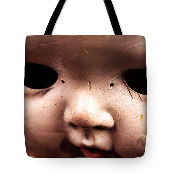 Dead Eyes Tote Bag by John Rizzuto