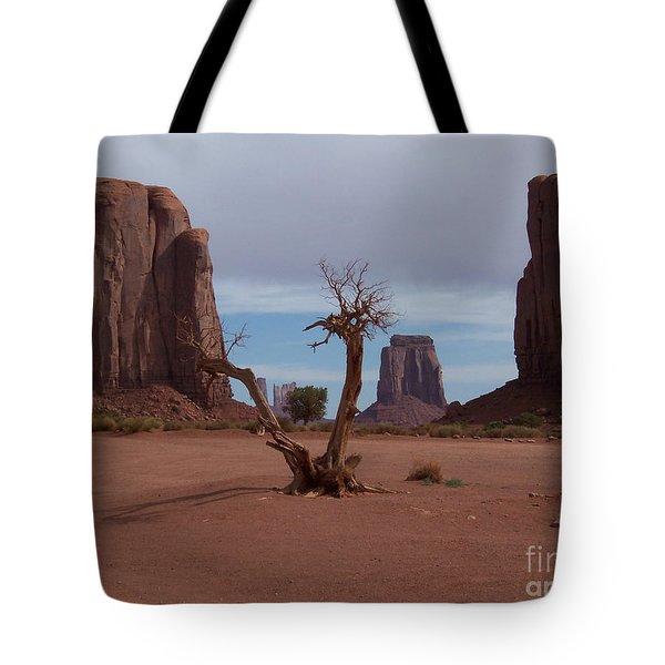 Dead-wood Tote Bag by Luke Moore