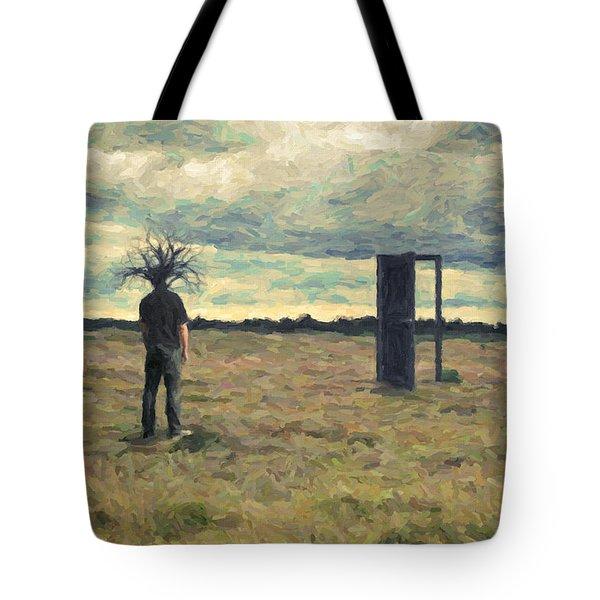Dead Zone Tote Bag by Taylan Apukovska